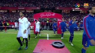 Sevilla 1 - FC Barcelona 2 (1 minuto)