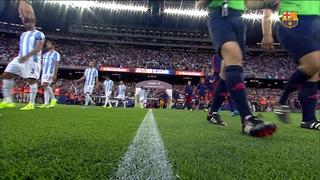 FC Barcelona 1 - Málaga CF 0 (2 minutos)