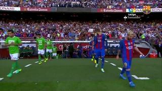 FC Barcelona 6 – Betis 2 (1 minuto)
