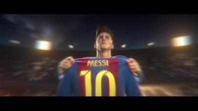 La Historia De Messi En Dibujos Animados