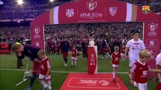 FC Barcelona 2 - Sevilla 0 (1 minute)