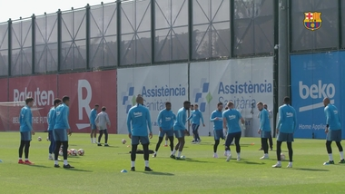 The squad for the visit to Huesca
