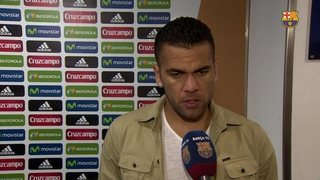 Dani Alves says there are no excuses