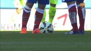 Atlético de Madrid 0 - FC Barcelona 1 (5 minutes)