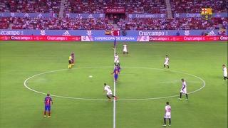 Sevilla FC 0 – FC Barcelona 2 (3 minutos)