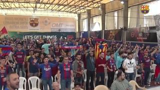 Beirut vibra amb la victòria del Barça al Bernabéu