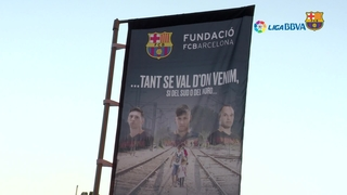 Goles y solidaridad en el Camp Nou