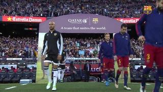 FC Barcelona 1 – Valencia CF 2 (1 minuto)