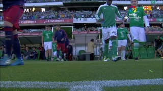 Betis 0 – FC Barcelona 2 (3 minutes)