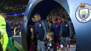 Manchester City 3 - FC Barcelona 1 (1 minuto)