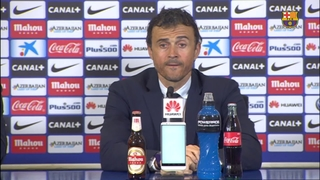 Luis Enrique dedicates league to all those who have helped