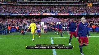 FC Barcelona 2 - Atlético de Madrid 1