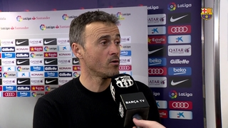 Luis Enrique feels his side deserved to go through against Athletic
