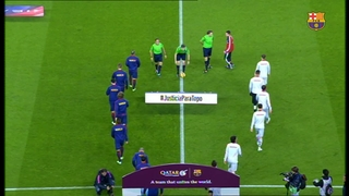 FC Barcelona 3 - At, Madrid 1 (5 minutes)