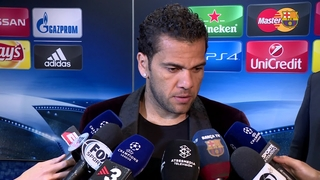 Alves says objective achieved for Barça