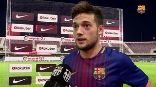 Las declaraciones de los jugadores después del partido de liga contra el Oviedo