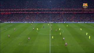 Athletic Bilbao 2 - FC Barcelona 5 (5 minutos)