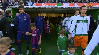 Elche 0 - FC Barcelona 6 (5 minutes)
