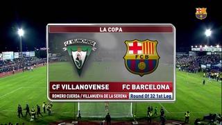 Villanovense 0 - FC Barcelona 0 (1 minuto)