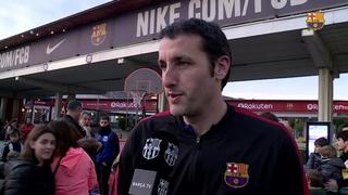 El Barça Lassa visita l'Espai Nadal del Camp Nou