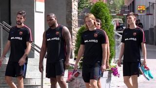 El Barça Lassa carrega les piles a Andorra per afrontar una exigent temporada