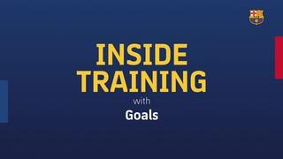 INSIDE TRAINING: Els millors gols a la Ciutat Esportiva