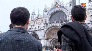 El Barça Lassa, de visita en Venecia