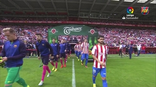 Sporting - FC Barcelona (3 minutes)