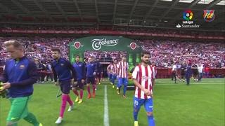 Sporting - FC Barcelona (3 minutos)