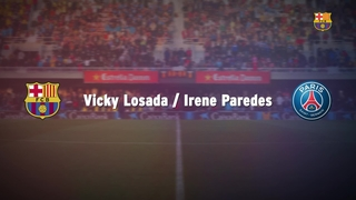 Face to face: Irene Paredes and Vicky Losada