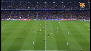 FC Barcelona 1 - Manchester City 0 (5 minuts)