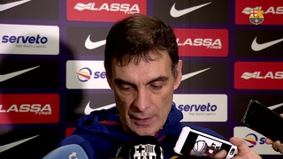 """Bartzokas: """"We need to win away from home as well to be in the Euroleague top eight"""""""