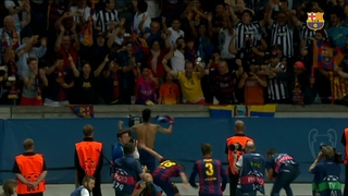 FC Barcelona Champions League victory celebrations
