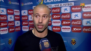 "Mascherano: ""It's important to keep picking up points"""