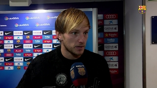 Rakitic and Busquets react to draw at home to Deportivo