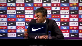 "Luis Enrique: ""We will go to Granada to win the league"""