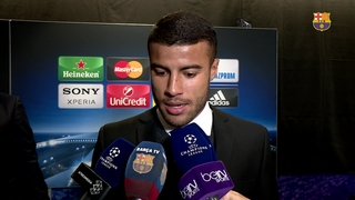 "Rafinha: ""Happy to feel like a footballer again"""