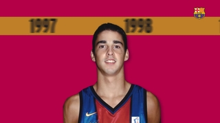 The evolution of Juan Carlos Navarro at FC Barcelona