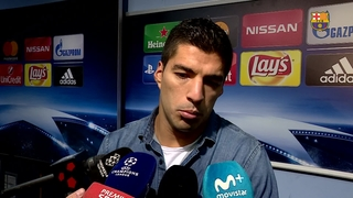 FC Barcelona's Luis Suárez: 'Qualification still in our own hands'
