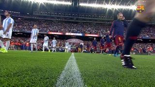 FC Barcelona 1 - Màlaga CF 0 (5 minuts)