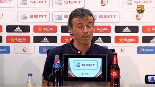 Luis Enrique recognises the magic of the Cup