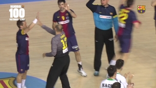 Musical 100 victòries del Barça (handbol) a la Lliga Asobal 2016/2017