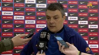 """Xavi Pascual: """"Encara no pensem en la Copa"""""""