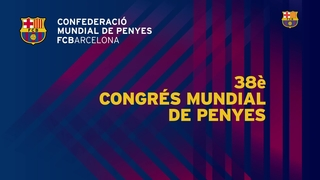 No et perdis el 38è Congrés Mundial de Penyes!