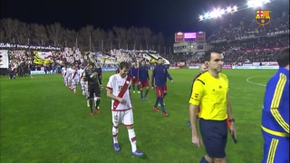 Rayo Vallecano 1 – FC Barcelona 5 (1 minute)