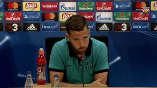 "Jordi Alba: ""Having competition for places improves the team"""