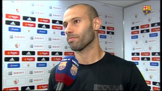 Mascherano says FC Barcelona fans deserve Cup victory