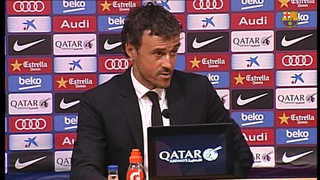 My team are performing wonderfully, says Luis Enrique