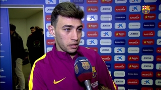 Munir puts Barça into last eight