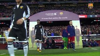 FC Barcelona 7 - València CF 0 (1 minut)